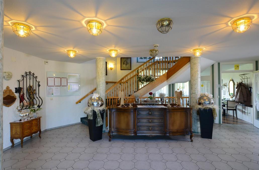 Haus Hubertus - Eingangsbereich