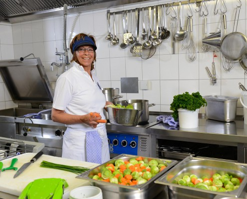 hauseigene Küche
