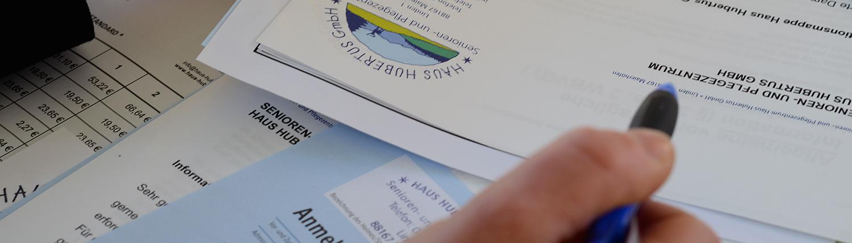 Ausbildung, Stellenangebot, Beratung im Seniorenzentrum Haus Hubertus